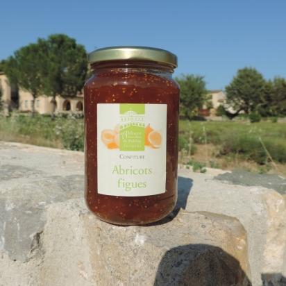 Confiture abricots figues, 430 gr de Confitures & Miels