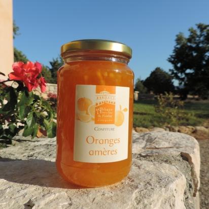 Confiture d'oranges amères, 430 gr de Confitures & Miels