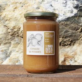 Bocaux de Compote de POMMES – Abbaye de Rosans - 730 g