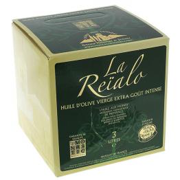 Huile d'olive 1 fontaine 3 litres La Reïalo de Epices & condiments