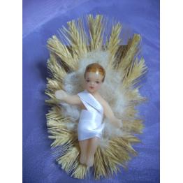 Enfant Jésus en cire 7 cm