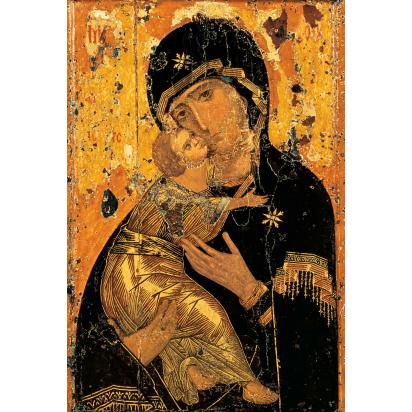 Icône de la Vierge de Vladimir de Icônes traditionelles