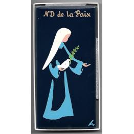 Céramique Notre-Dame de la Paix peinte à la main