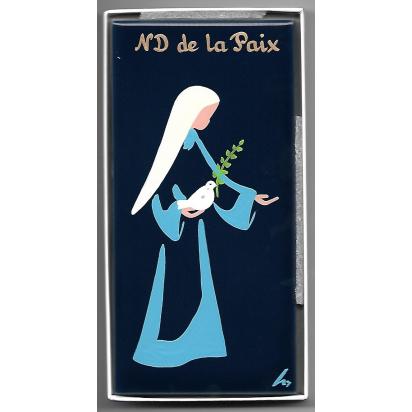 Céramique Notre-Dame de la Paix peinte à la main de Céramiques peintes
