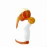 CRECHE - Ange à la trompette - Santons en terre cuite (6cm) N°16 de Crèches