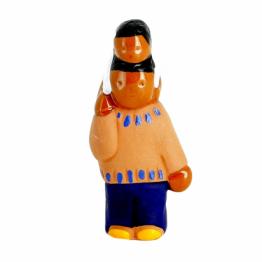 CRECHE - Le papa - Santons en terre cuite (6cm) N°60