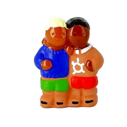 CRECHE - Les écoliers - Santons en terre cuite (6cm) N°31 de Crèches
