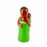 CRECHE - L'africaine - Santons en terre cuite (6cm) N°12 de Crèches