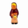 CRECHE - Le berger à la lanterne - Santons en terre cuite (6cm) N°9 de Crèches de Noël