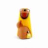 CRECHE - Le mage à genoux - Santons en terre cuite (6cm) N°45 de Crèches de Noël