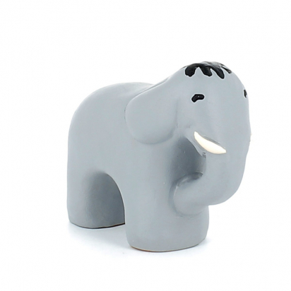 CRECHE - L'éléphant - Santons en terre cuite (6cm) N°32 de Crèches de Noël