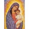Icône de la Vierge à l'Enfant de Icônes contemporaines