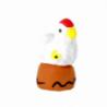 CRECHE - La poule - Santons en terre cuite (3,5cm) N°25 de Crèches de Noël
