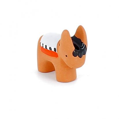 CRECHE - L'âne - Santons en terre cuite (6cm) N°33 de Crèches de Noël