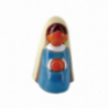 CRECHE - Marie - Santons en terre cuite (7cm) N°47 de Crèches de Noël