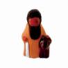 CRECHE - L'aveugle - Santons en terre cuite (6cm) N°26 de Crèches de Noël