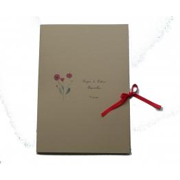 Papier à lettres fleurs