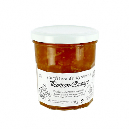 Confiture de potiron-orange