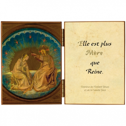 Diptyque du couronnement de la Vierge de Diptyques