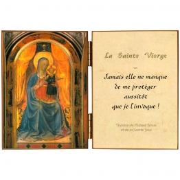 Diptyque de Vierge des Linaivoli
