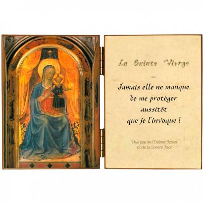 Diptyque de Vierge des Linaivoli de Diptyques