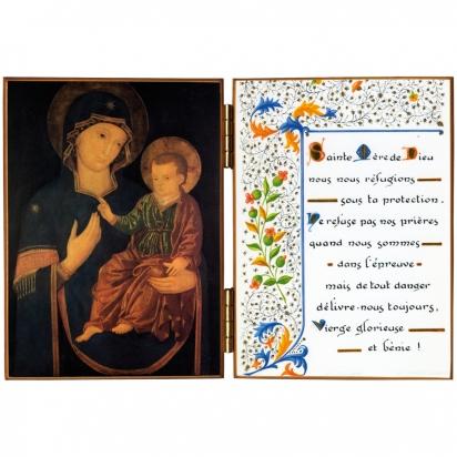 Diptyque religieux de la Vierge de la Consolata de Diptyques