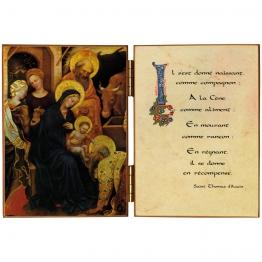 Diptyque de l'Adoration des Mages