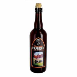 Bière ambrée L'Alpargate de Bières trappistes et des Abbayes