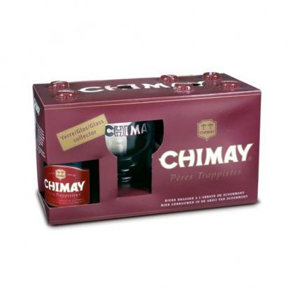Coffret bière Chimay Rouge de Bières trappistes et des Abbayes