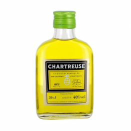 Chartreuse Jaune en flasque 20cl