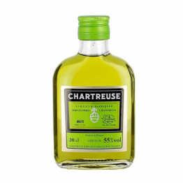 Chartreuse Verte en flasque