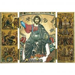 Triptyque du Christ en majesté
