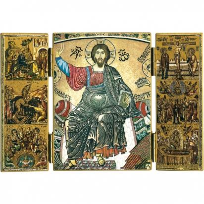 Triptyque du Christ en majesté de Triptyques
