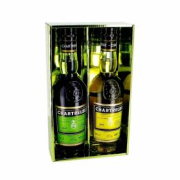 Coffret Chartreuse Verte et Jaune 35 cl