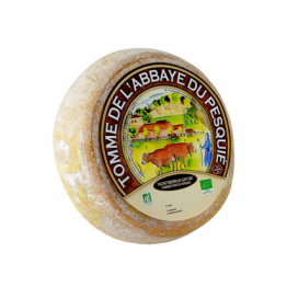 Fromage monastique et bio 3,5kg lait de vache fermier au lait cru de Epicerie salée
