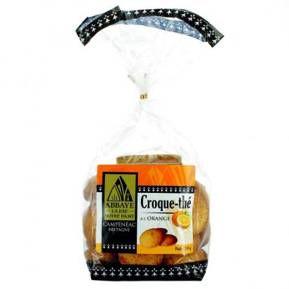 Croque-thé à l'orange de Biscuits