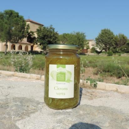 Confiture de citrons verts, 430 gr de Confitures & Miels