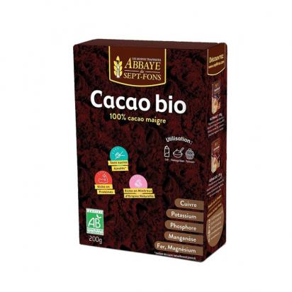 Cacao bio en poudre non sucré de Boissons - Thés - Tisanes