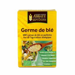Complément alimentaire germe de blé bio en paillettes