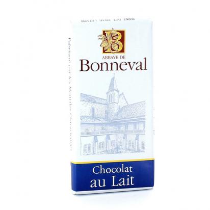Tablette de chocolat au lait de Confiseries