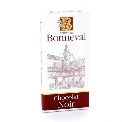 Tablette de chocolat noir de Confiseries