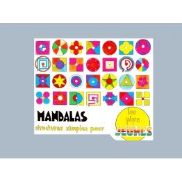 Mandalas, structures simples pour les plus jeunes