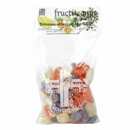 Bonbons fructi-canne Banane, abricot & myrtille