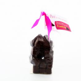 Pavés framboise - chocolat