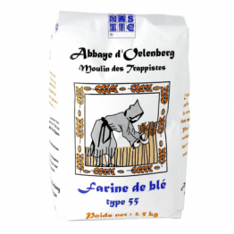 Farine de blé T55 boulangère