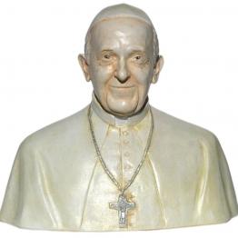Buste du Pape François