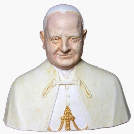 Buste de saint Jean XXIII
