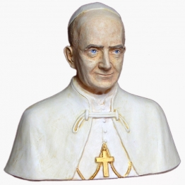 Buste de saint Paul VI de Les Papes