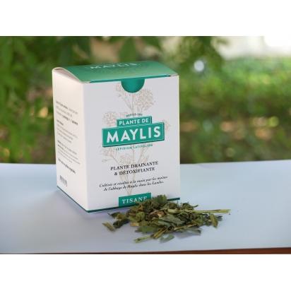PLANTE DE MAYLIS - TISANE 30g - coffret carton - drainante et détoxifiante de Boissons - Thés - Tisanes