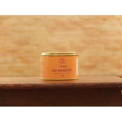 Cire du BENEDIT en pâte - boite ronde de 370 g - Encaustique à l'ancienne à la cire d'abeille de Entretien du bois & Cires